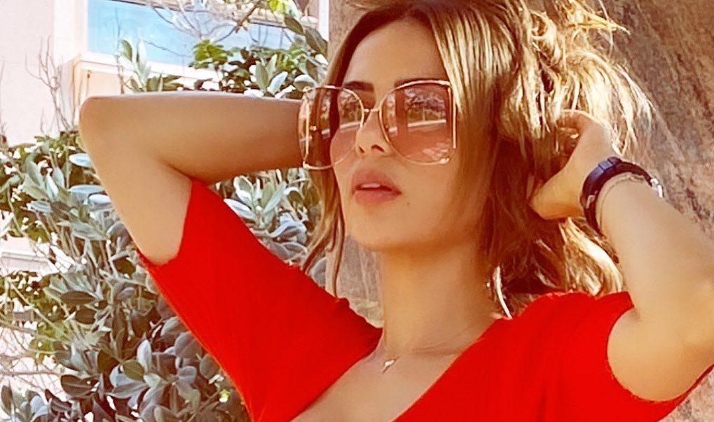 شيما والنظارات القناع