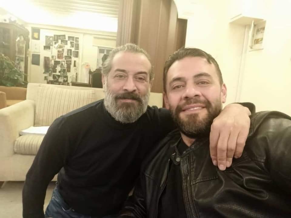 عبد المنعم عمايري والمخرج فادي سليم