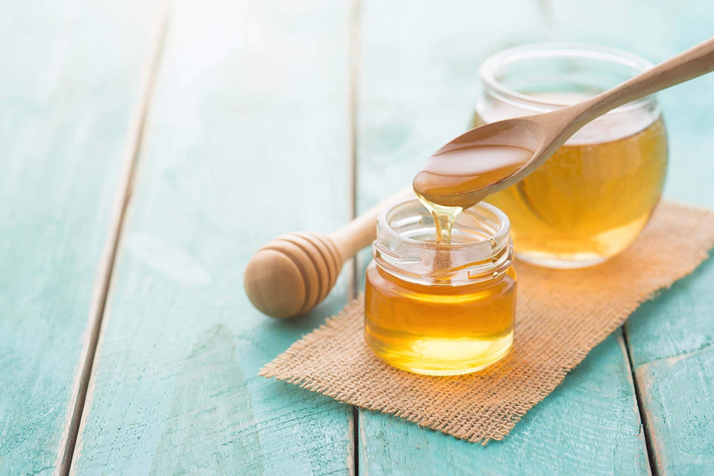 الألوفيرا والعسل