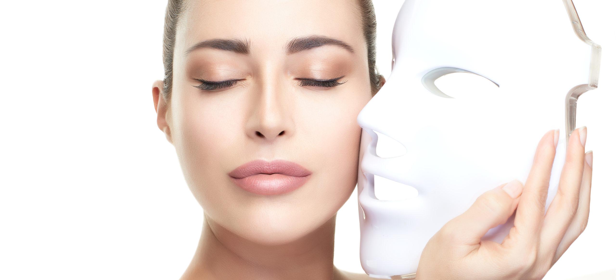ماسك الوجه الضوئي لتجديد البشرة
