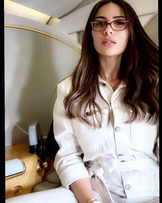 شيما والنظارات الطبية