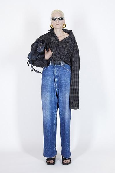 بنطلون جينز من بالنسياغا Balenciaga