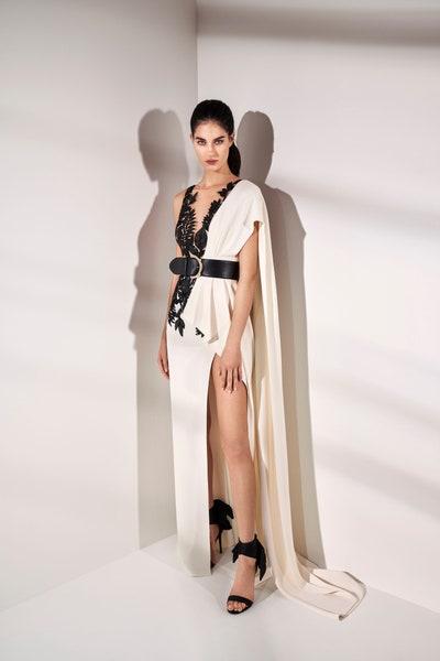فستان أبيض من زهير مراد Zuhair Murad