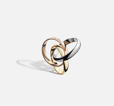 خاتم ترينيتي Trinity  من كارتييه Cartier