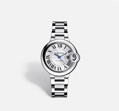 ساعة بالون بلو دو كارتييه Ballon Bleu De Cartier