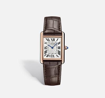 ساعة تانك Tank من كارتييه Cartier