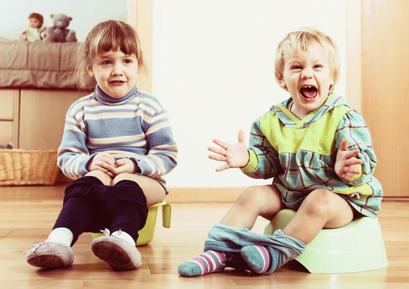 أخطاء تتسبب في توقف الطفل عن استخدام القصرية