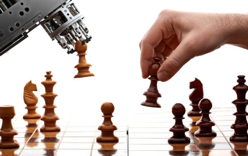 العبي مع روبوت - من موقع Penn State News