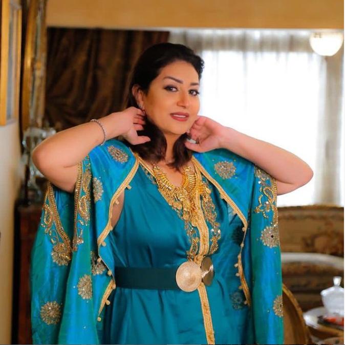 وفاء عامر- من إنستغرام