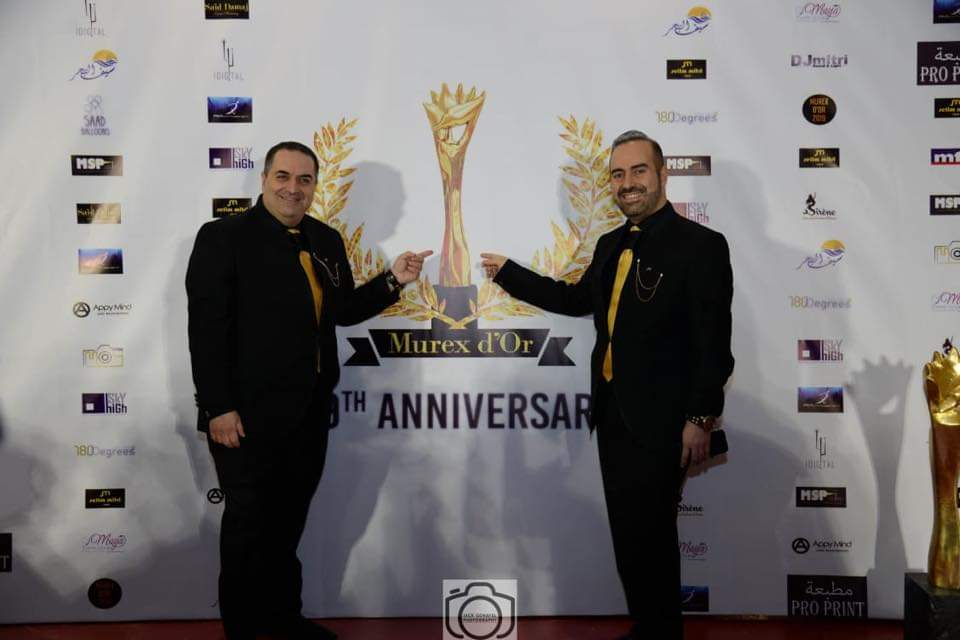 Brothers Dr. Zahi and Dr. Fadi Helou-Exclusive photo from Murex d'Or Festival.jpg