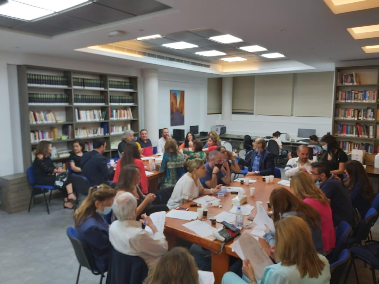 Murex Door Jury Evaluates Works - Photo courtesy of Murex Door.jpg