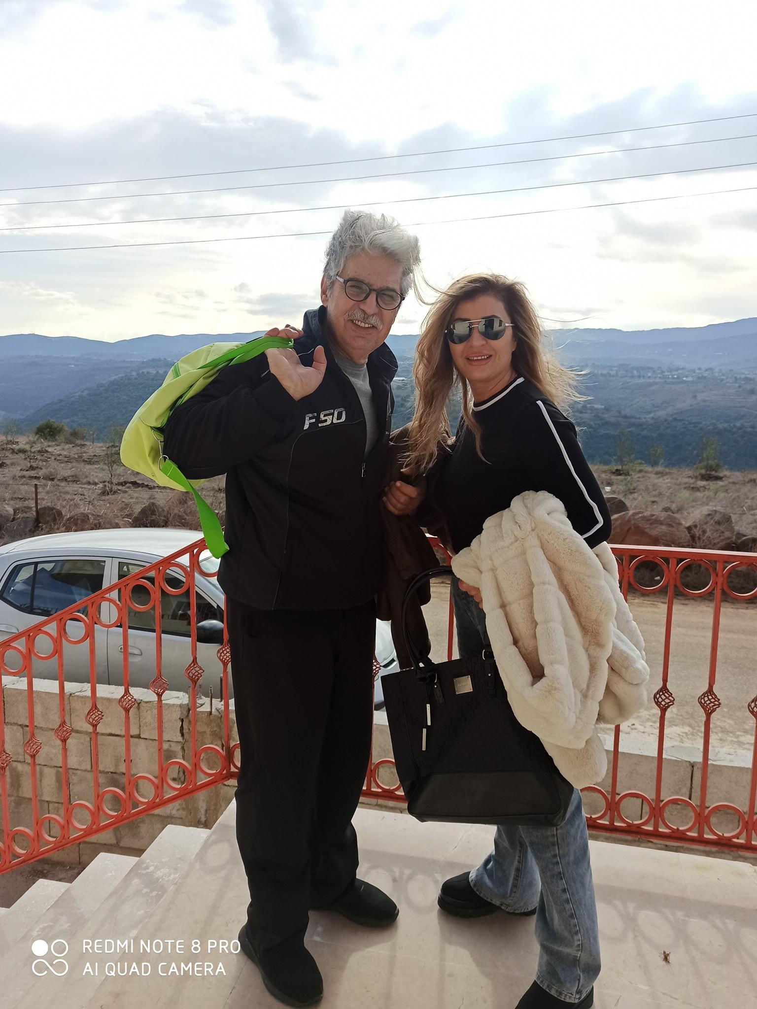 عباس النوري و زوجته عنود خالد - الصورة من فيسبوك عباس النوري.jpg