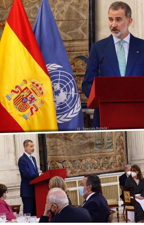 كلمة الملك فيليب- الصورة من حساب Spanish Royals على إنستغرام.jpg