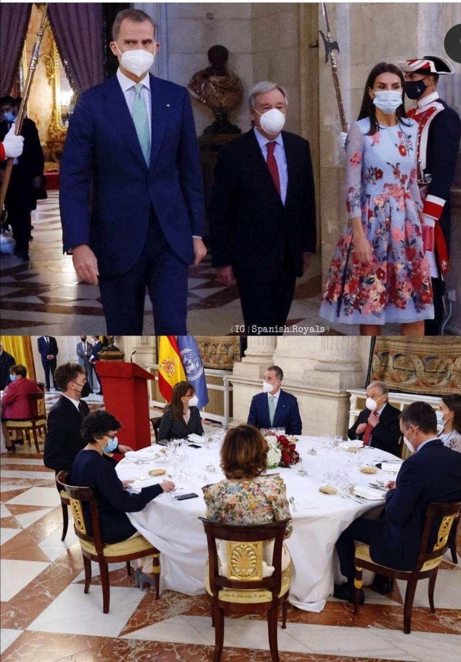 مأدبة الغداء- الصورة من حساب Spanish Royals على إنستغرام.jpg
