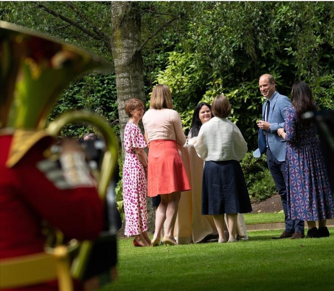 الأمير ويليام في إحتفاله بالعيد رقم 73 لـNHS- الصورة من حساب دوق ودوقة كامبريدج على إنستجرام-.jpg