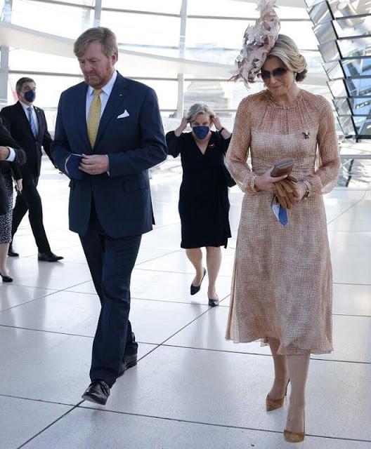 الملك والملكة يزوران متحف Gropius Bau- الصورة من موقع ---New my royals.jpg