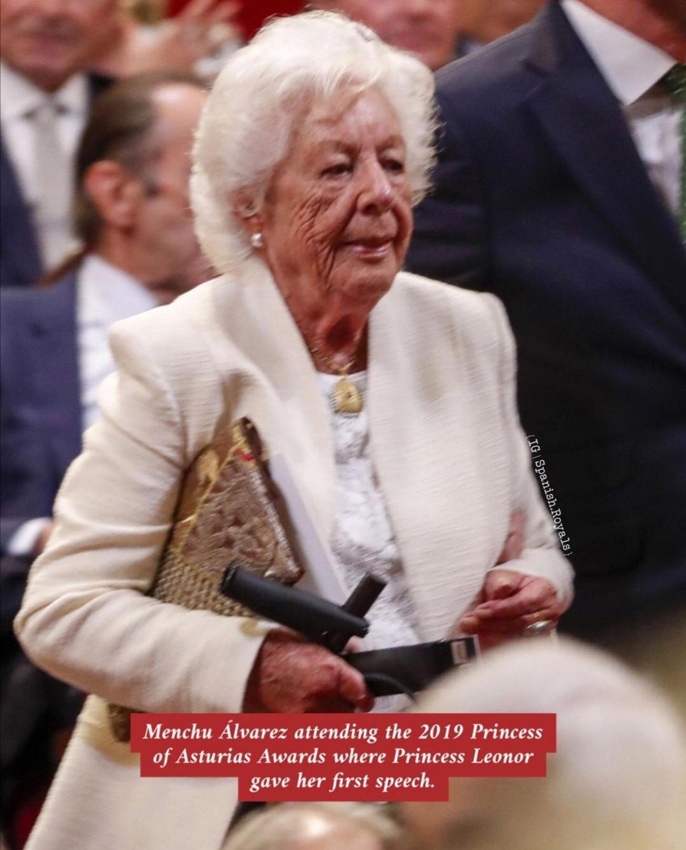مينشو ألفاريز- الصورة من حساب Spanish royals على إنستغرام