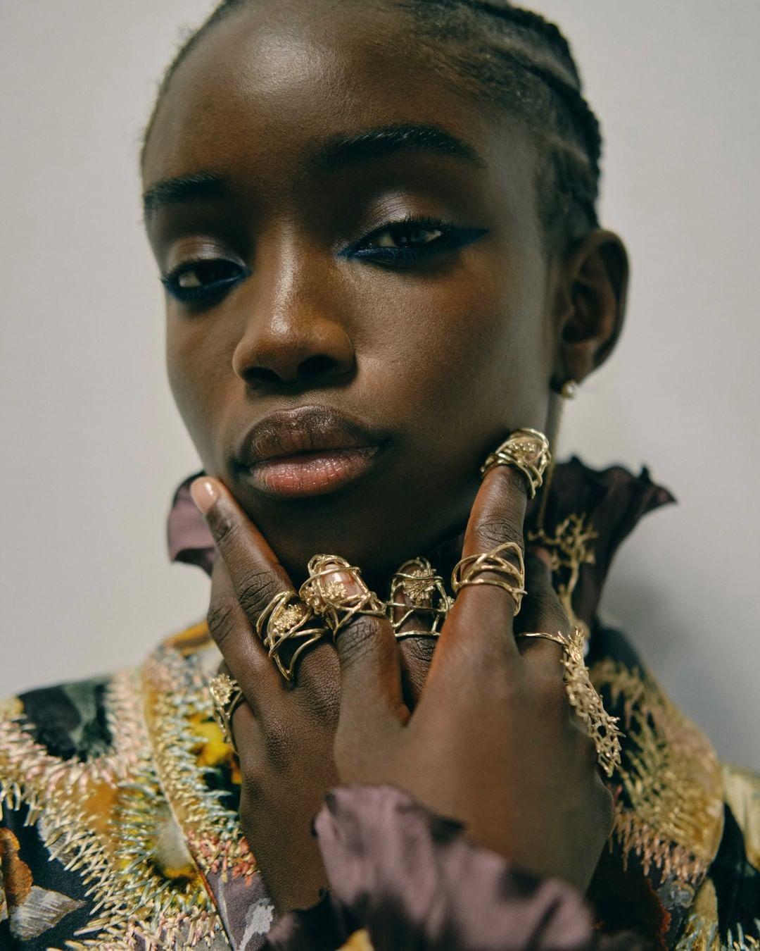 من عروض ديور لخريف 2021(الصورة من حساب Dior على إنستغرام)