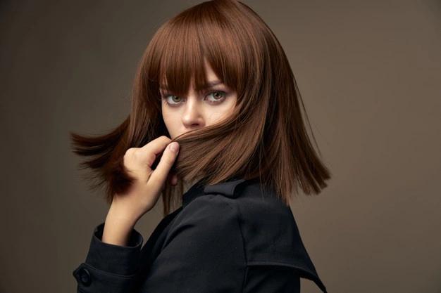 صبغة الشعر يمنح الشعر لمعاناً