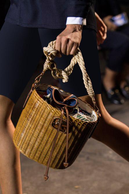 حقيبة قش من إيترو