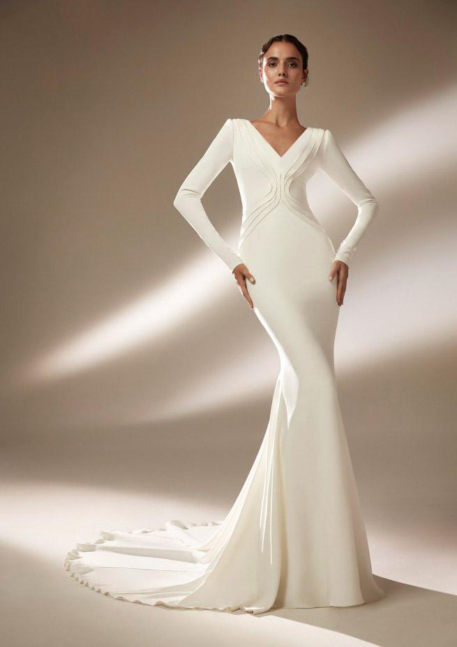 فستان زفاف من أتيلييه برونوفياس