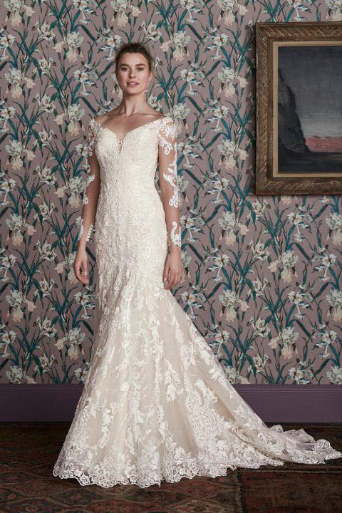 فستان زفاف من جاستن ألكسندر