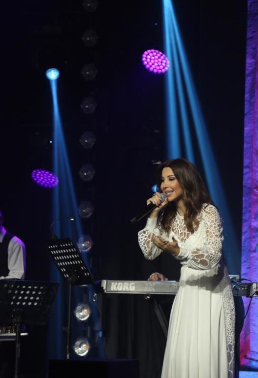 نانسي عجرم - تصوير علي الحسينان