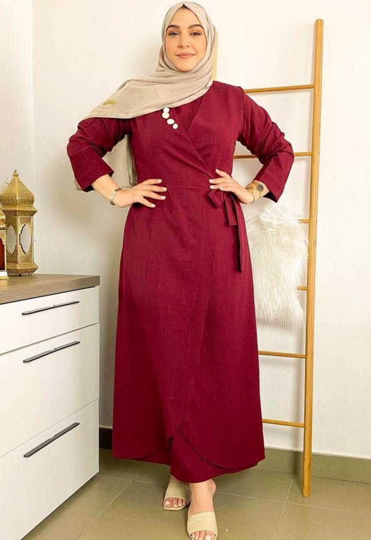4 سوزان السعدي بفستان يومي -الصورة من حسابها على الانستغرام