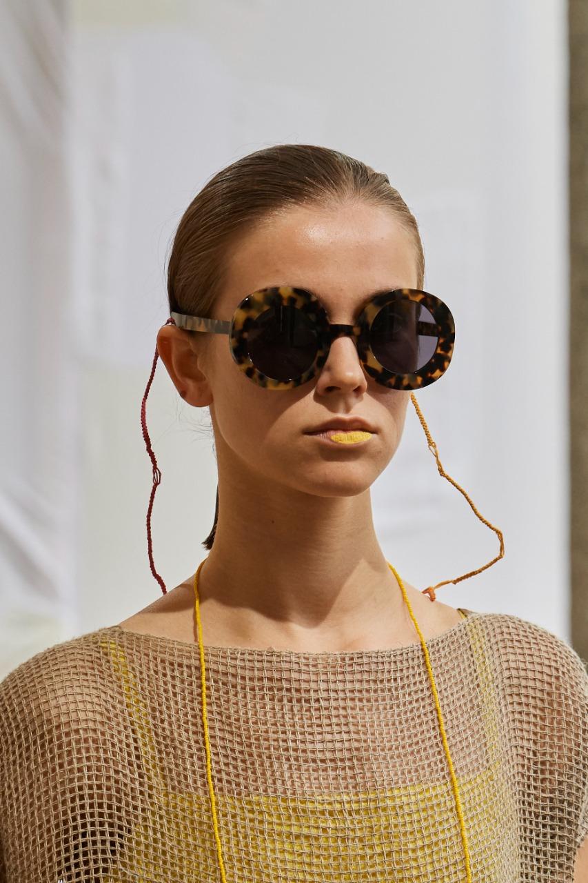 Daniela Gregis صورة ٣ نظارة باللون الأسود من