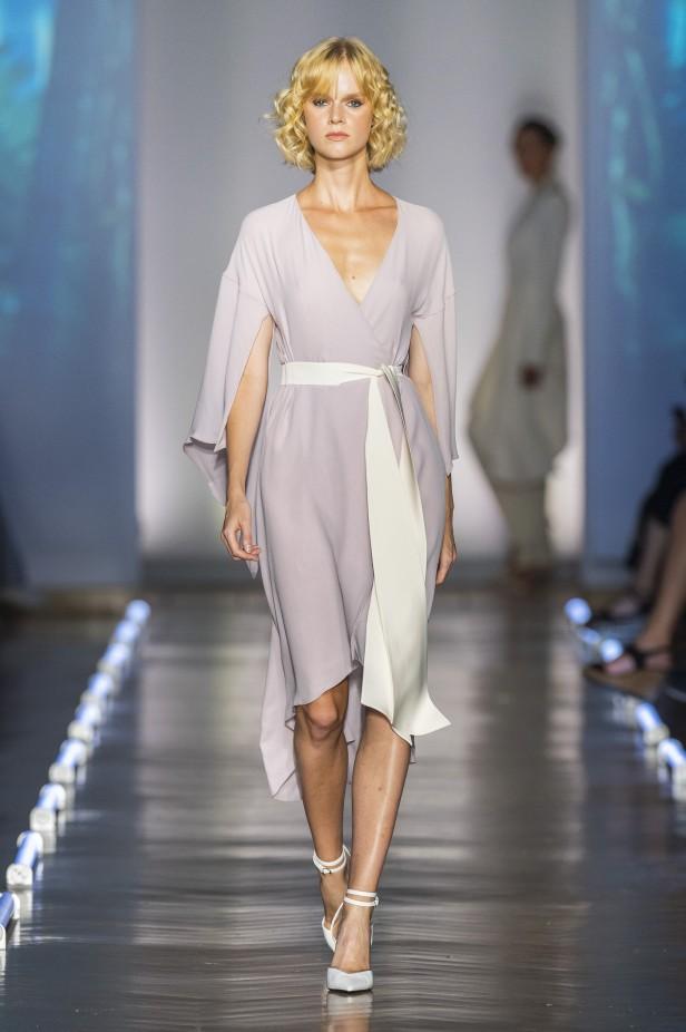 فستان سهرة بنفسجي فاتح من  Gretel Z-صورة 2
