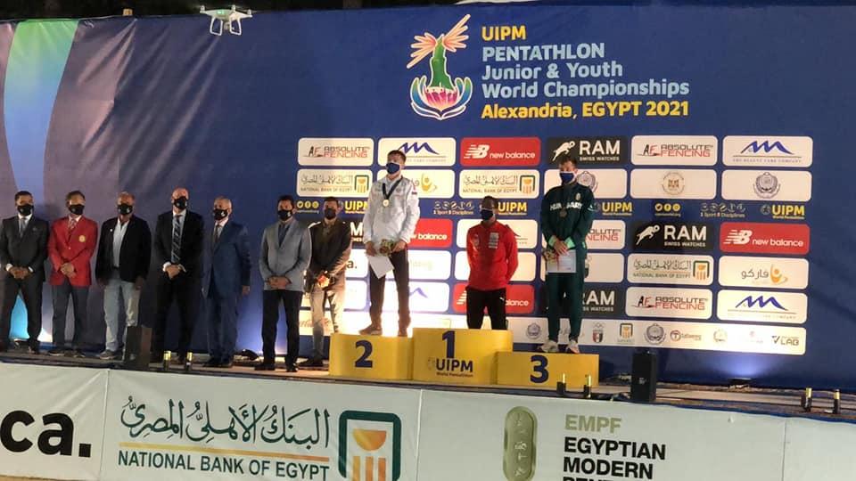 ختام بطولة العالم للخماسي الحديث1- من فيس بوك وزارة الشباب والرياضة