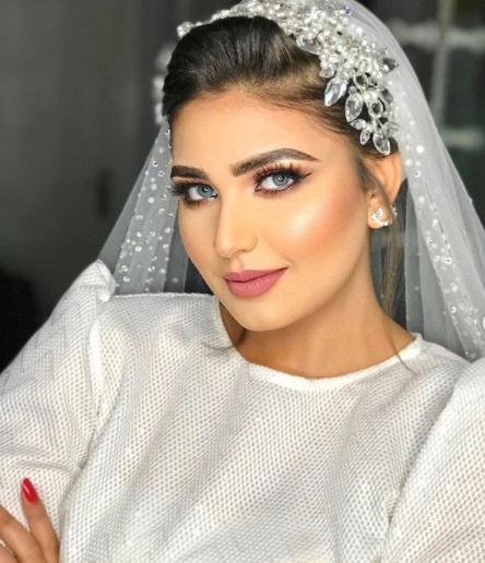 خطوات تطبيق مكياج جذاب لعروس 2021 - الصورة من إنستجرام -صفحة خبيرة التجميل سما محرز