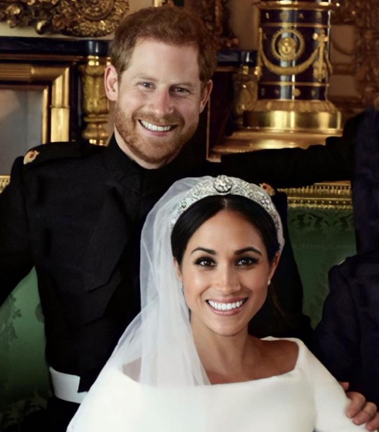 الأمير _هاري_ و_ميغان ماركل_- الصورة من حساب Duchess of sussex على إنستغرام