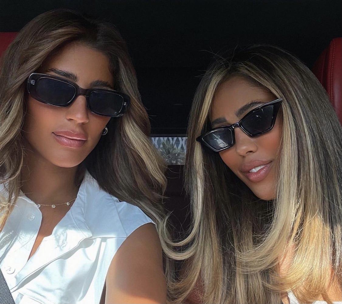 ليلى عبدالله وشقيقتها شهد - الصورة من الانستجرام