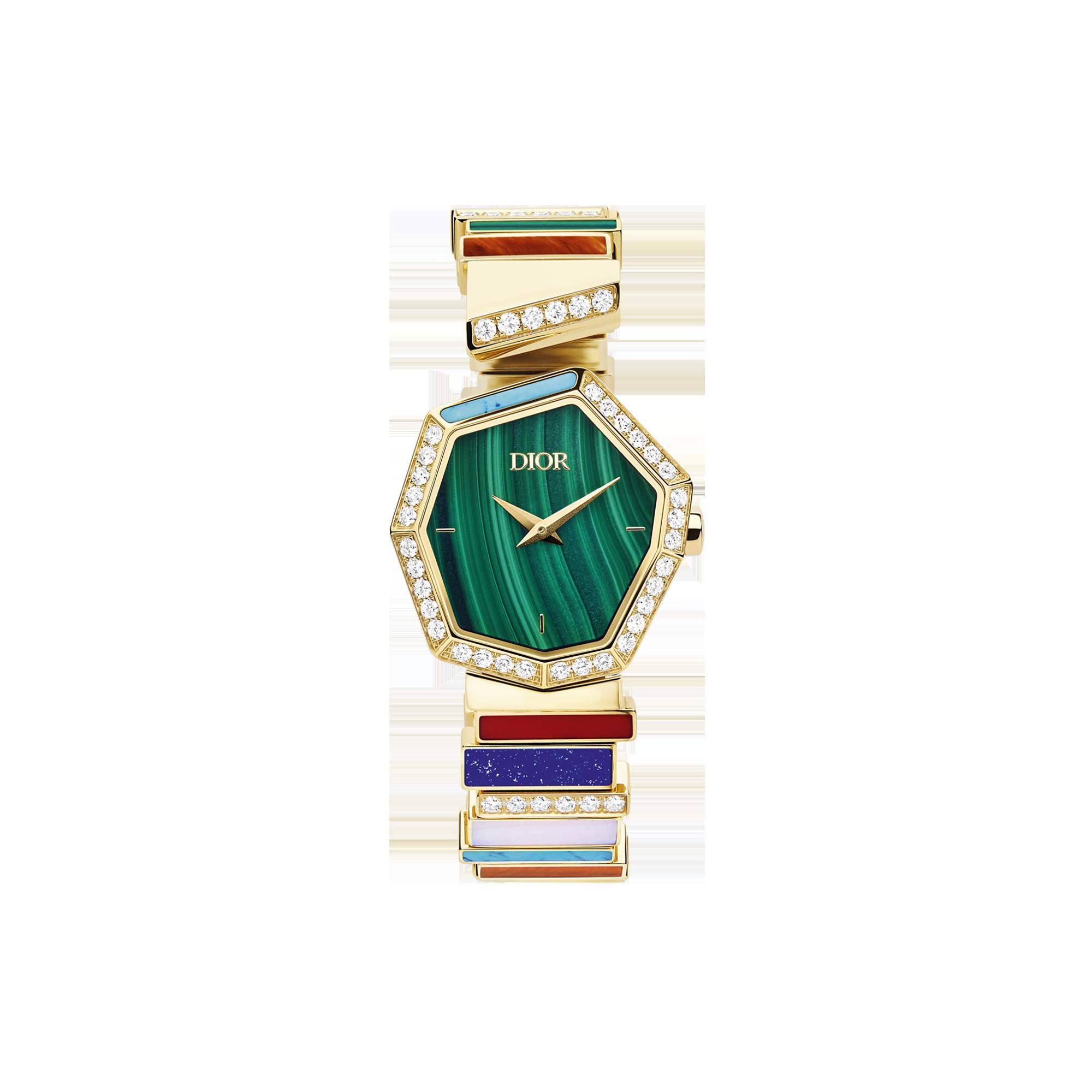 ساعة مفعمة بالألوان من ديور Dior