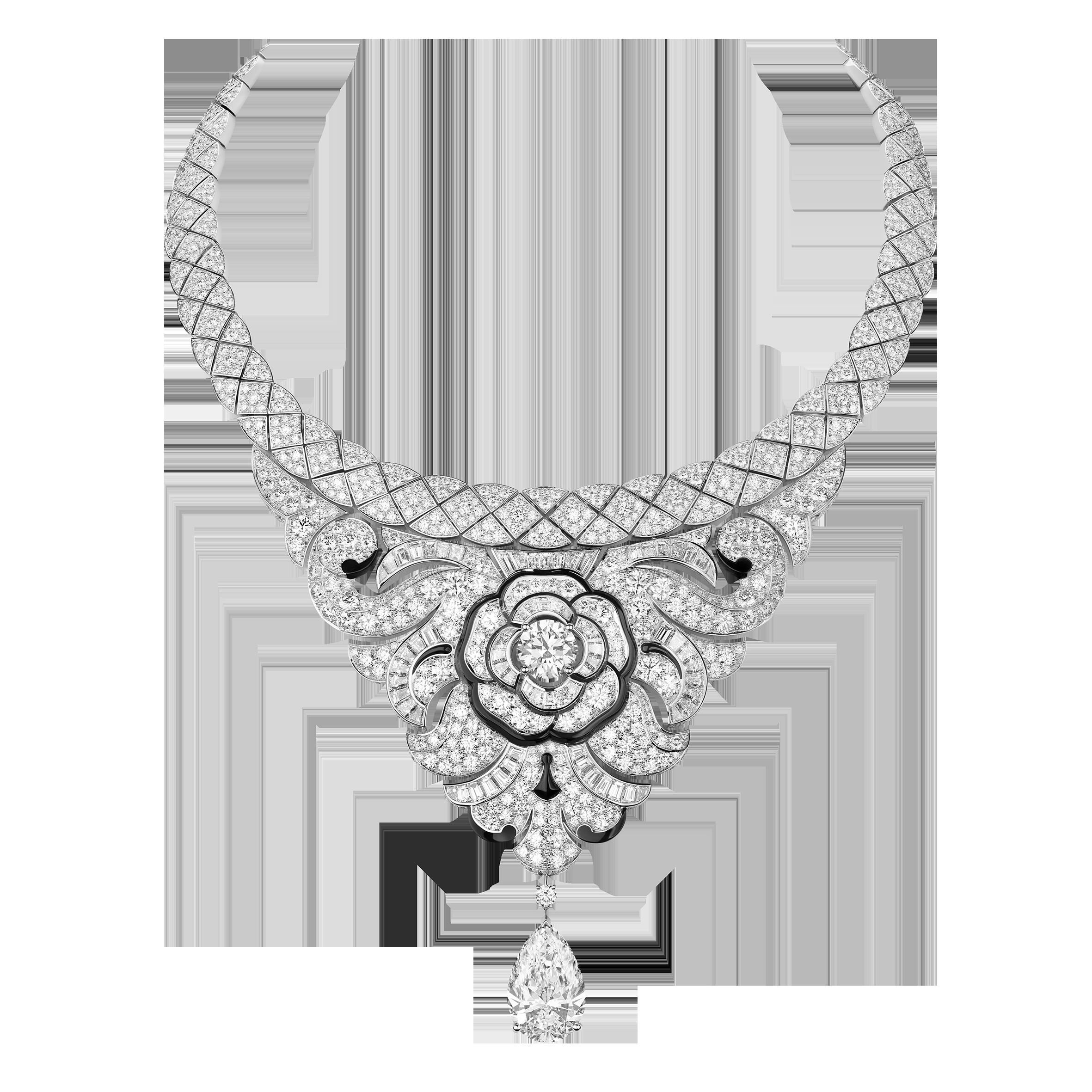 قلادة Camelia Baroque من شانيل Chanel