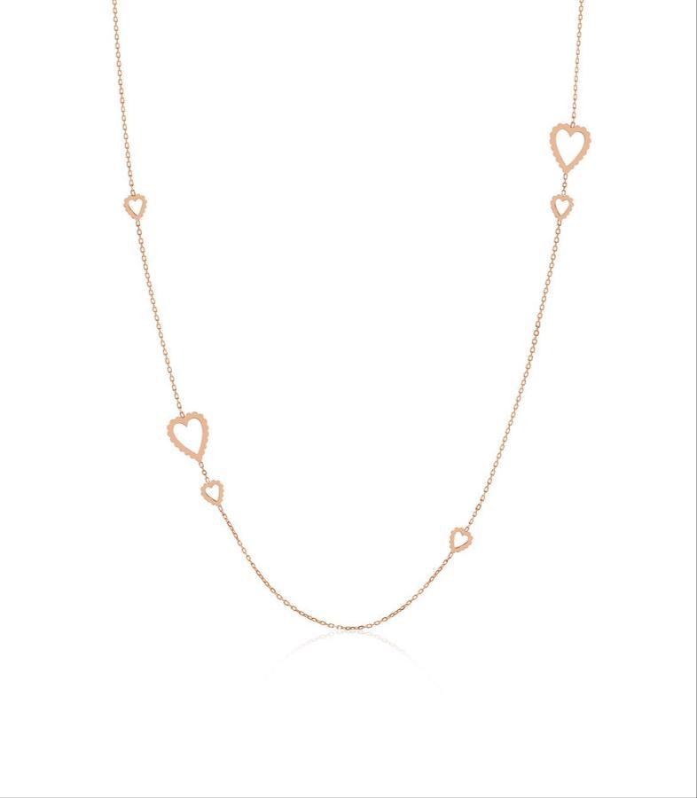 قلادة طويلة من المصممة سلامة خلفان Salama Khalfan Jewelry