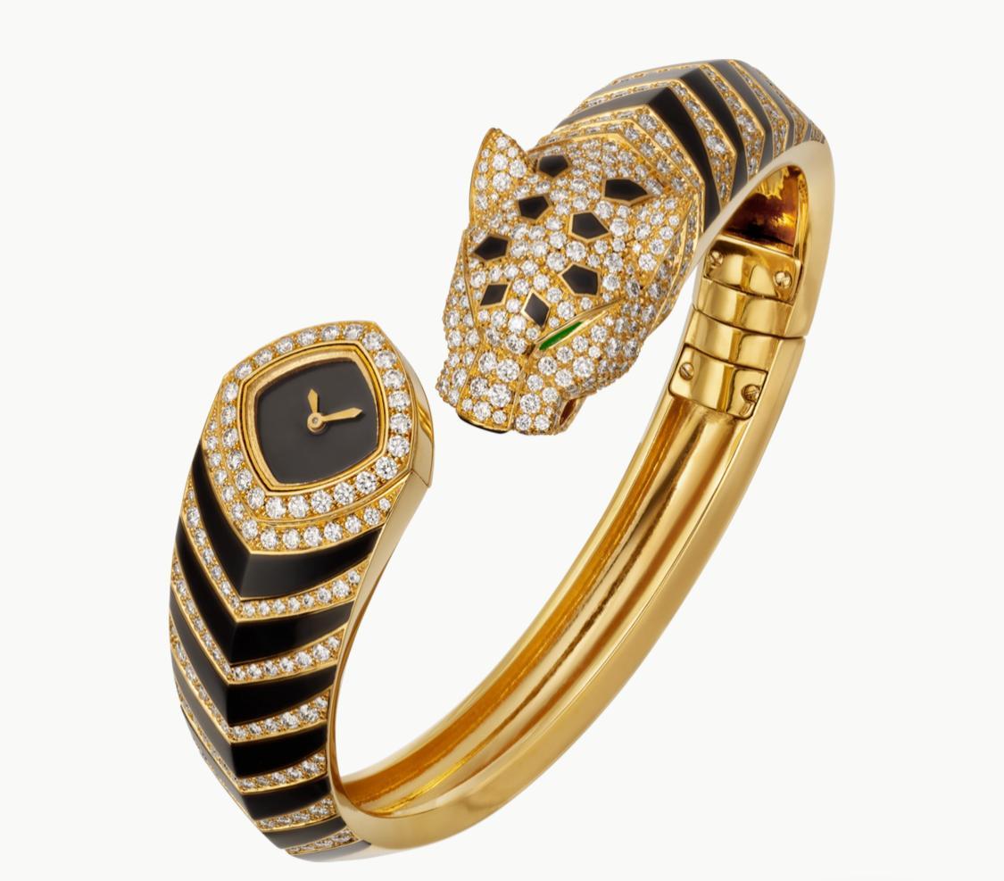ساعة سرية پانتير دو من المجوهرات لدار كارتييه Cartier