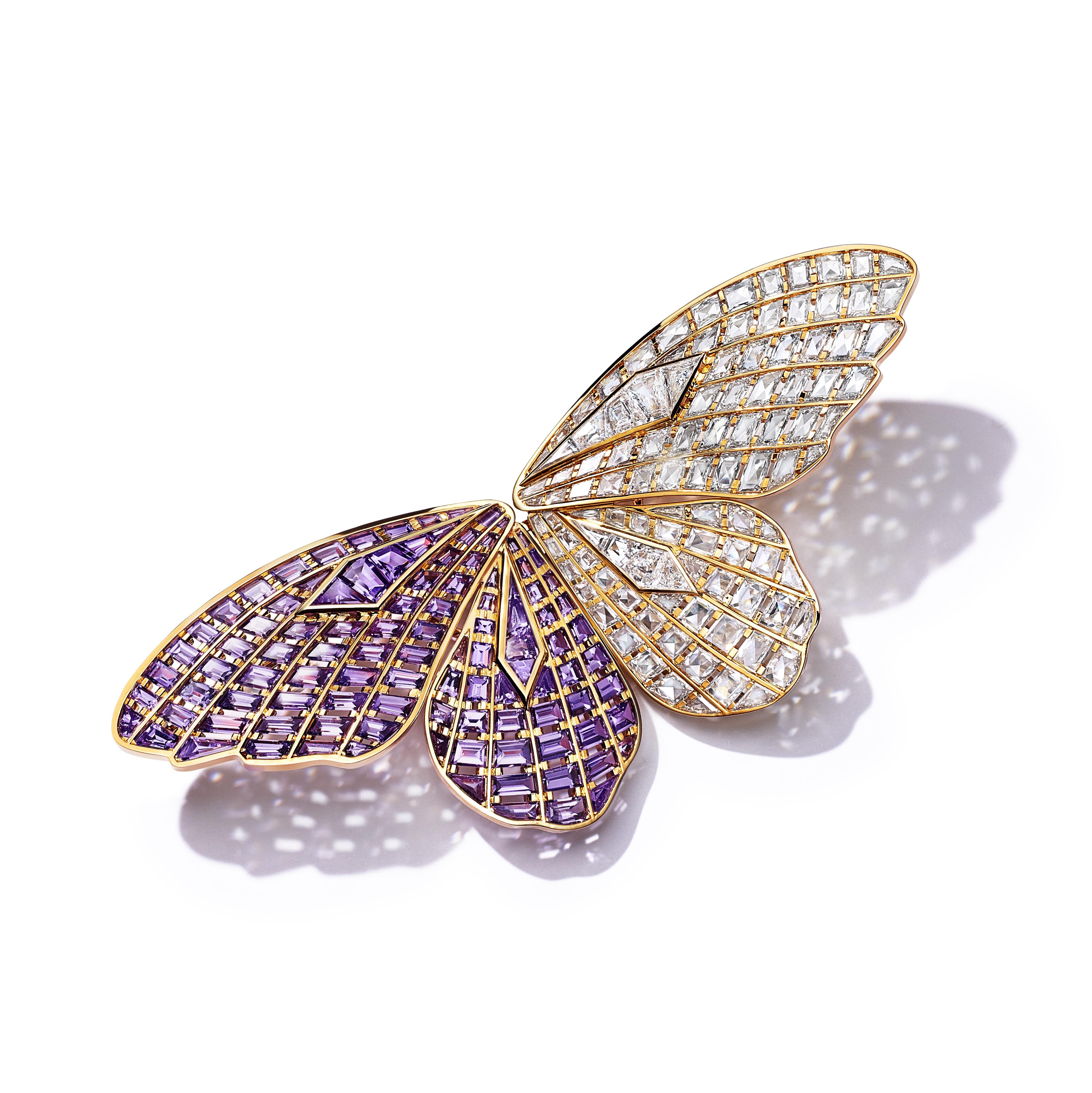 بروش ذهب وردي من تيفاني اند كو Tiffany & Co