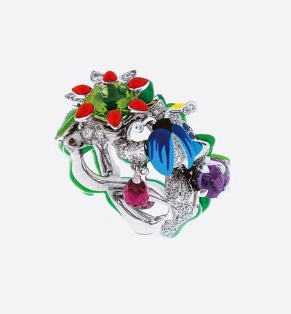 خاتم ميلي كارنيفورا من ديور Diorلعروس صيف 2021