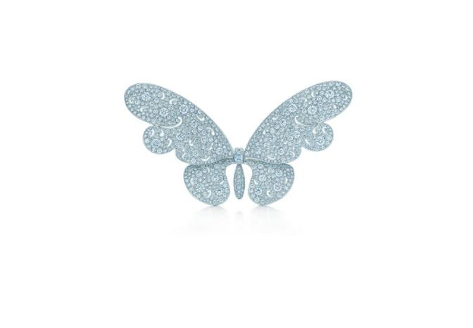 بروش فراشة من الألماس من تيفاني آند كو Tiffany & Co