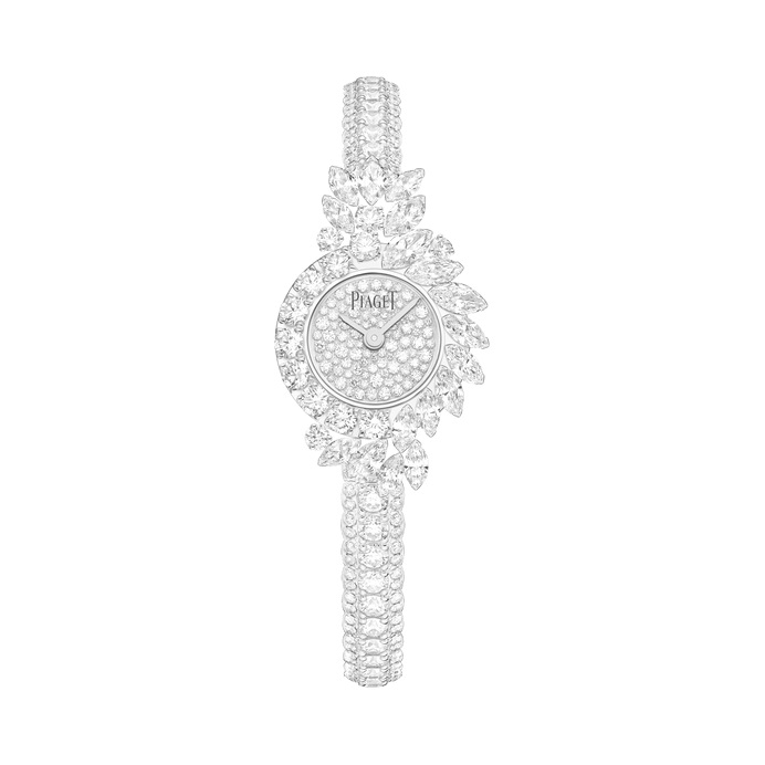 ساعة من الذهب الأبيض والألماس من بياجيه Piaget