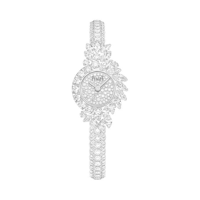 ساعة من الألماس الأبيض من بياجيه Piaget