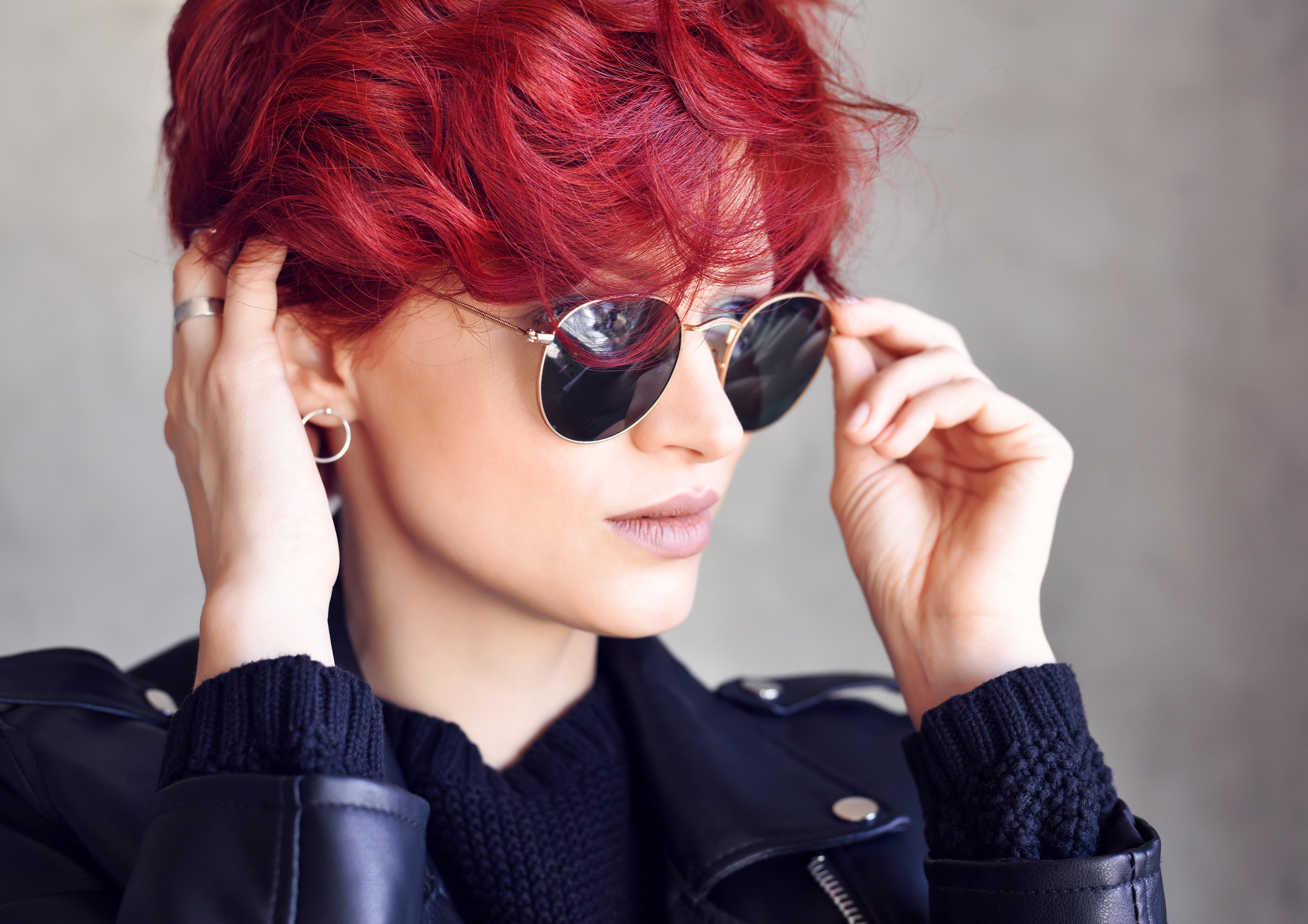 صبغات شعر احمر
