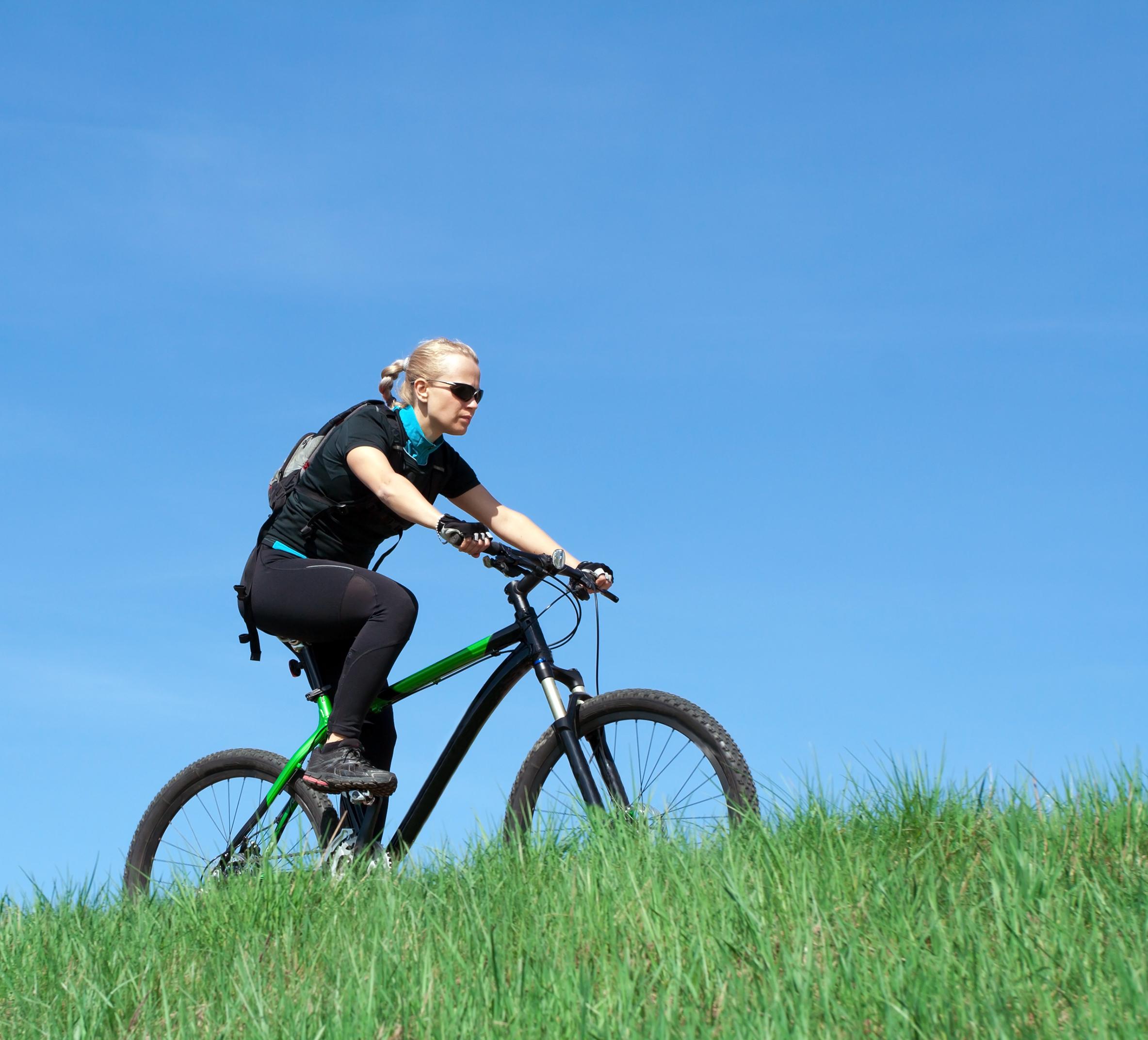 ركوب الدراجة