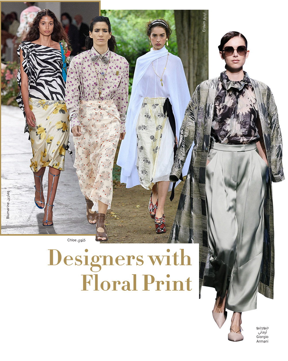 Designers with Floral Print