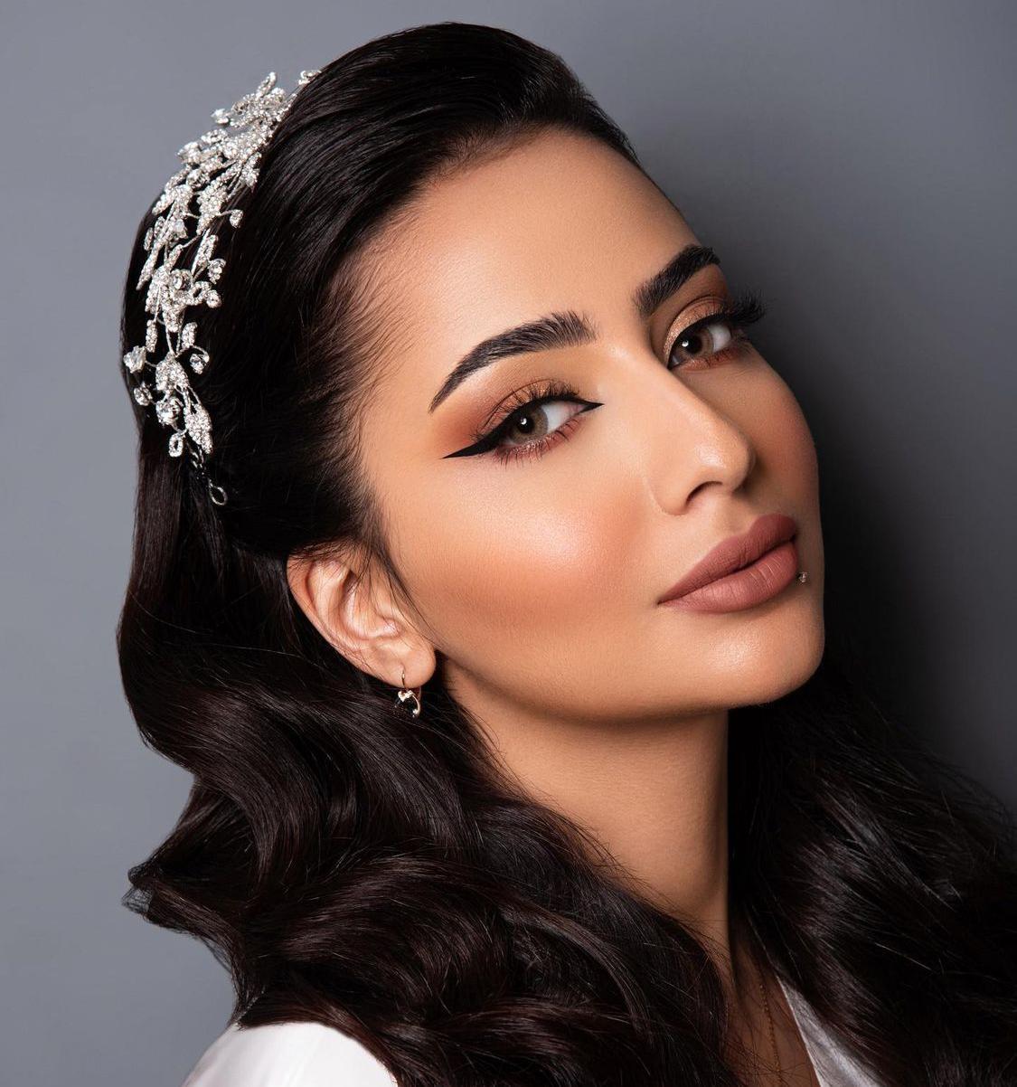 2 مكياج للعروس باسلوب خبيرة التجميل السعودية شيخة عبد الرحمن-الصورة من حسابها على الانستغرام