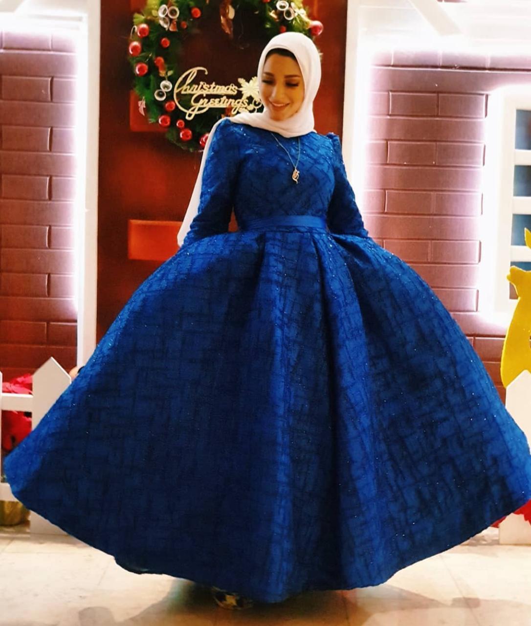 2 مريم سيف بفستان منفوش -الصورة من حسابها على الانستغرام