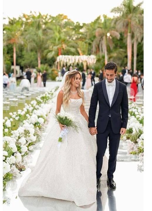 6 من حفل زفاف ابنة علا غانم.. الصور من حساب علا غانم على انستقرام