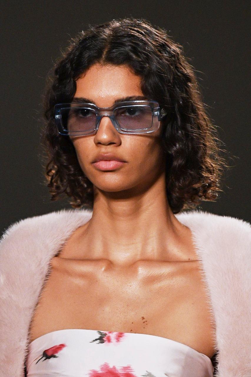 نظارة شمسية مستطيلة من Blumarine